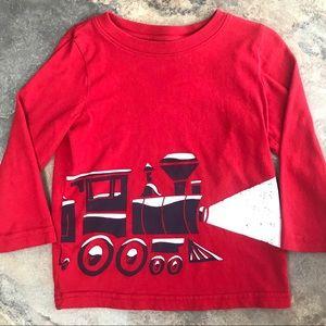 Jumping Beans toddler train long sleeve T-shirt